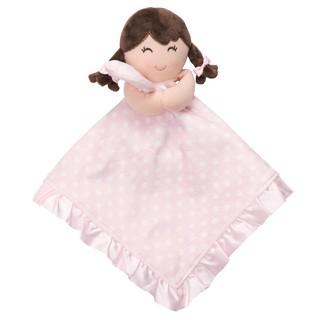 奇奇娃娃屋(QH)☆Carter's品牌, 可愛的小女孩搖鈴安撫巾, 底部是絲質, (粉色點點款)~250元(3) 臺中市
