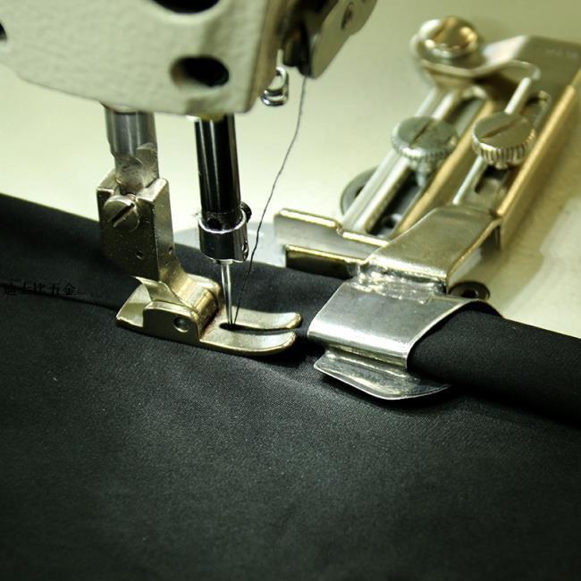 平車拉筒包邊毛邊包邊器卷邊鋁子下擺筒壓腳輔助卷邊工具滾邊器/迪士比五金