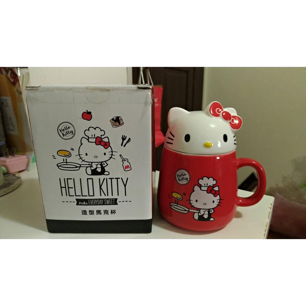 85度C 絕版 限量 造型馬克杯 Hello kitty 馬克杯 杯子
