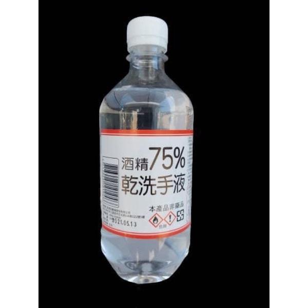 酒精75%-乾洗手液-乙醇-非藥用