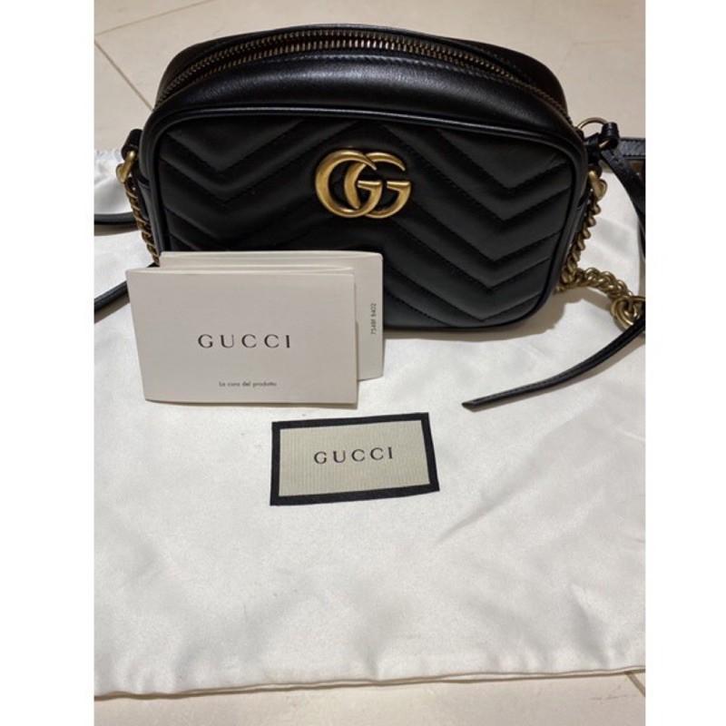 Gucci Marmont馬夢相機包mini尺寸