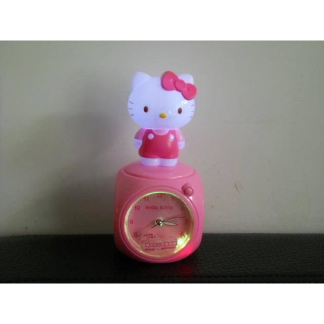 Hello Kitty*正版*鬧鐘*時鐘*公仔*音樂