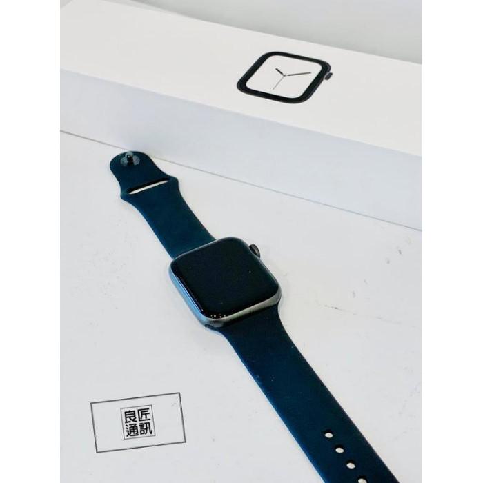 《良匠通訊》 Apple Watch S4 LTE+GPS 44mm 鋁合灰黑錶帶 (二手.林森.)