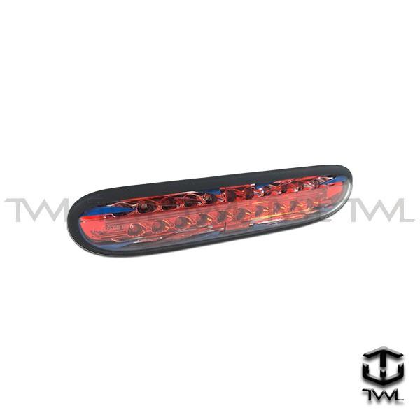 <台灣之光>MINI COOPER R56 ONE LED黑框英國旗樣式後保桿霧燈後霧燈