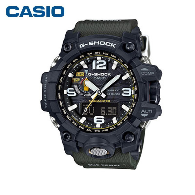 casio/卡西歐銀泰專櫃大泥王男士手錶 G-SHOCK系列GWG-1000-1A3 1ge0