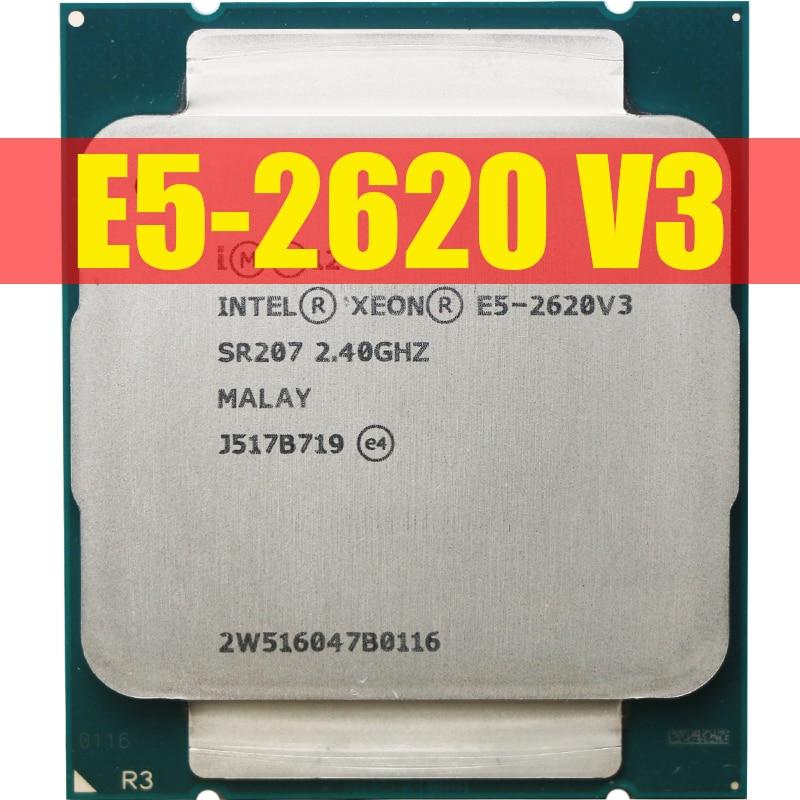 Intel Xeon E5 2620 V3  E5-2620 V3 procesador SR207 2,4 Ghz