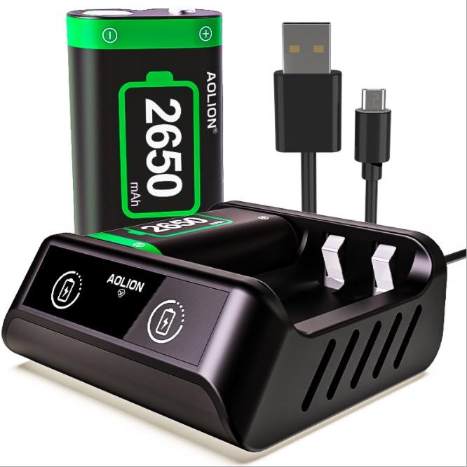 【台灣現貨】Aolion Xbox series X 電池充電座 手把充電 xbox手把電池 Xbox手把充電
