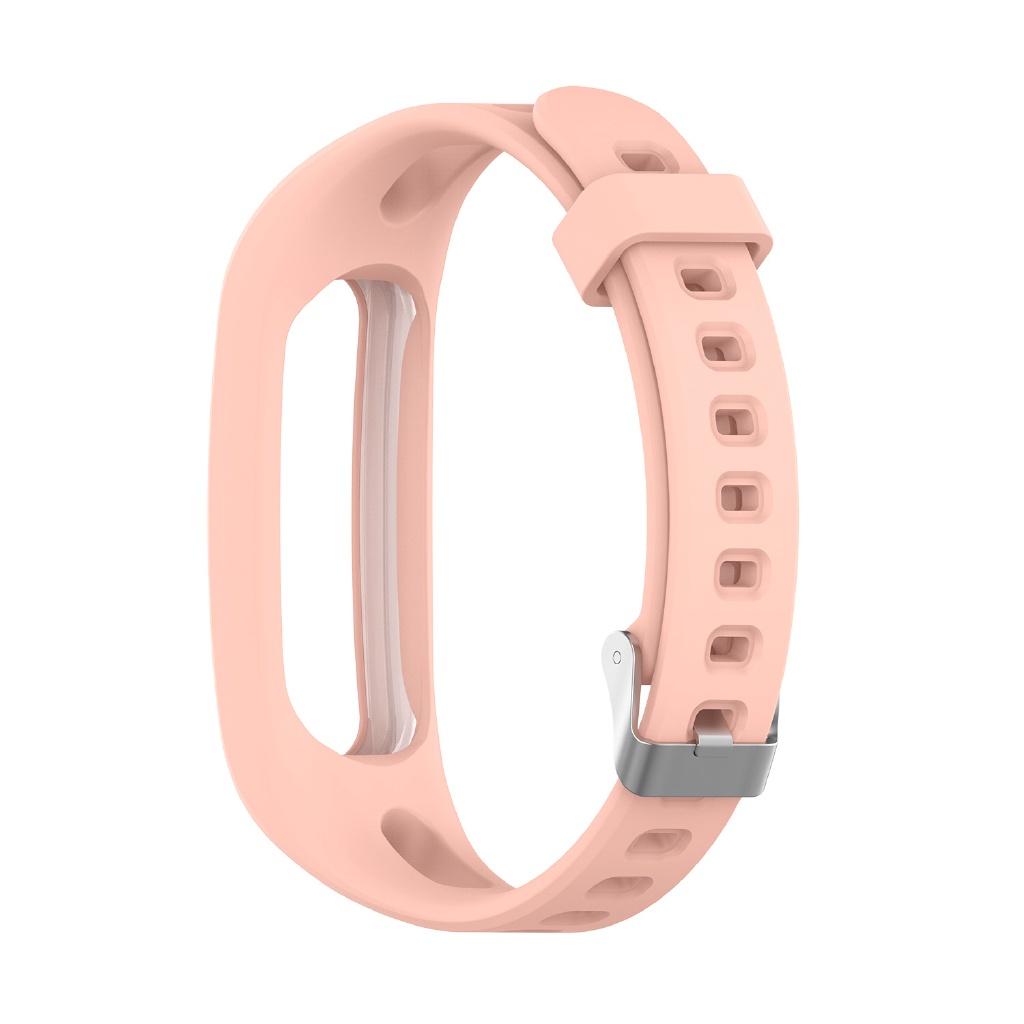 ☈適用於華為榮耀手環 4 running版 /手環band 4E/3E通用矽膠錶帶 替換腕帶 時尚經典扣運動表帶