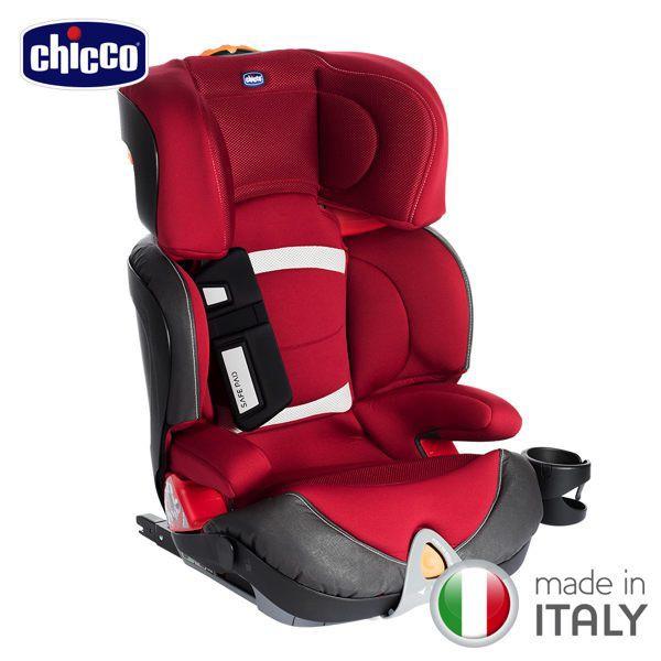 Chicco Oasys 2-3 FixPlus 安全汽座/汽車座椅(薔薇紅) 7900元