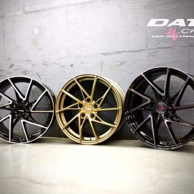DATA FF07 17吋7.5J  5孔108旋壓輕量鋁圈(起標價非實際售價 請洽詢)
