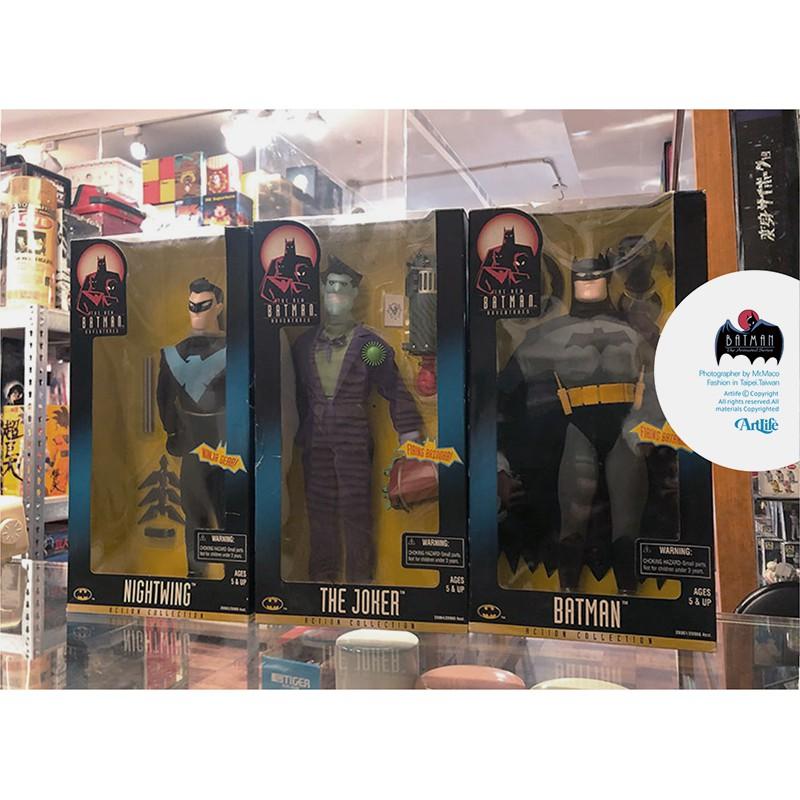 "ArtLife @ KENNER 1998 DC 12"" BATMAN JOKER 經典絕版 蝙蝠俠 小丑 夜鶯"