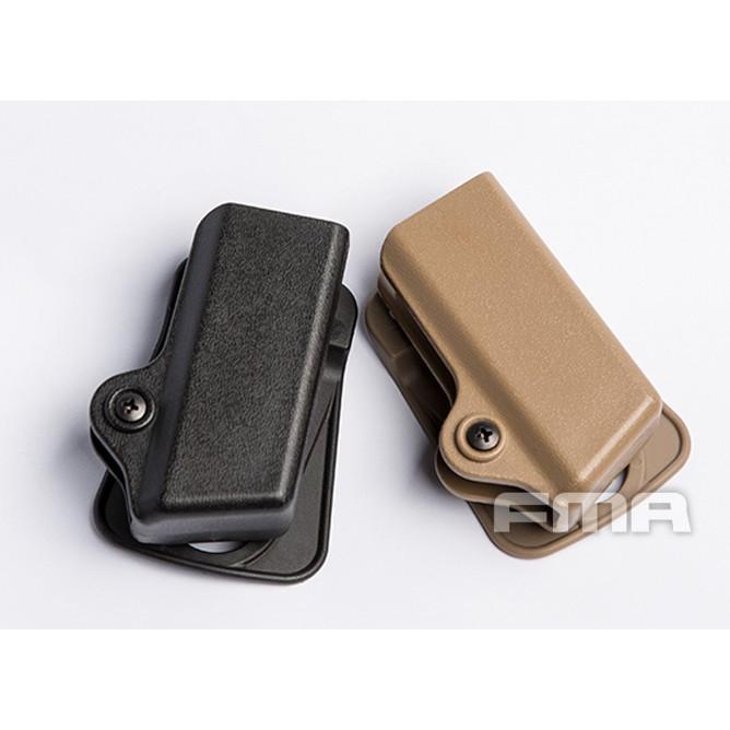 <傻瓜二館>FMA IPSC硬式 手槍 彈匣套 腰掛 比賽 3GUN GLOCK M92 HI-CAPA 瓦斯 彈夾套