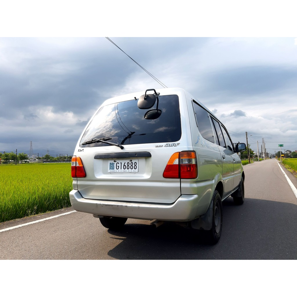 2003 Toyota 瑞獅 ZACE SURF 1.8 可領貨車牌 客貨兩用車 一年稅金只要7500 自排 宜蘭