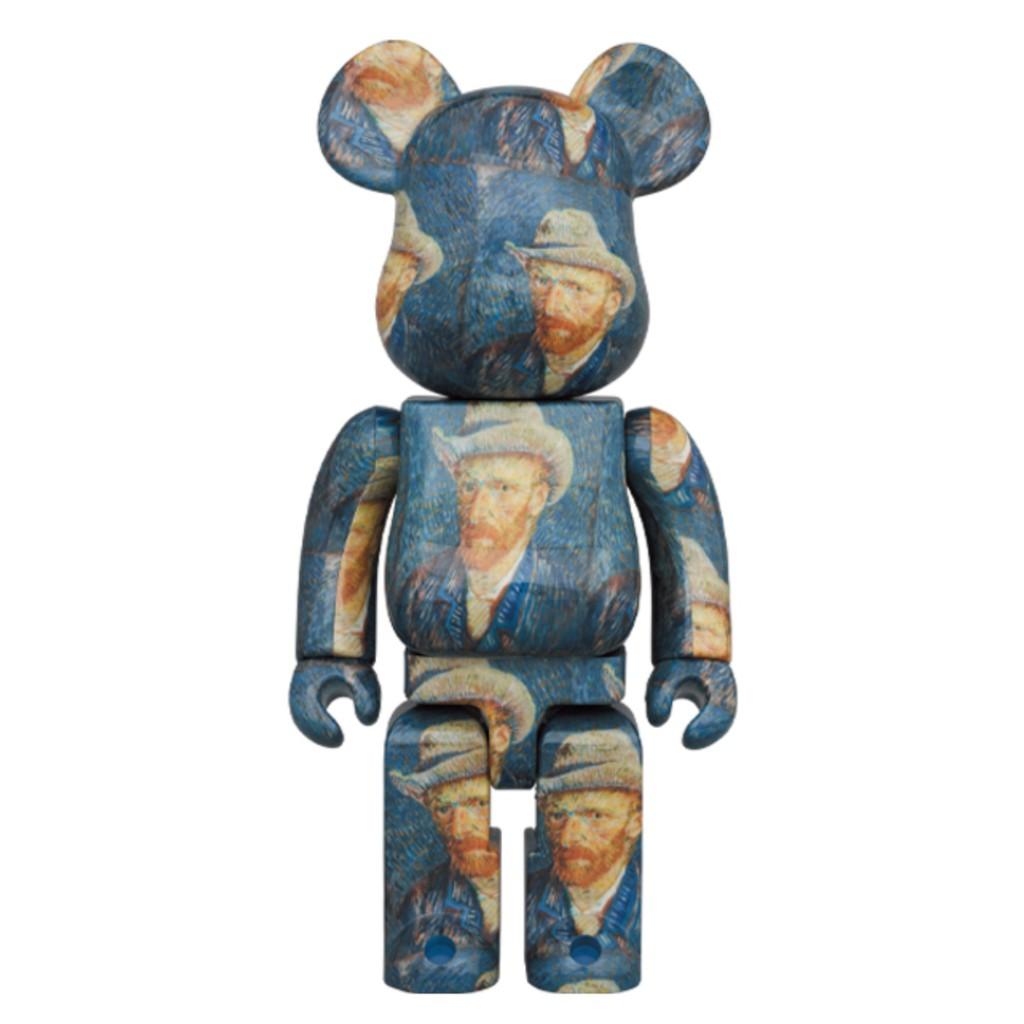 現貨 Be@rbrick 1000% 梵谷 自畫像 Van Gogh 庫柏力克熊