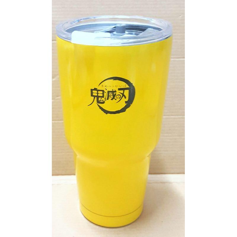 鬼滅之刃黃色冰霸杯如圖