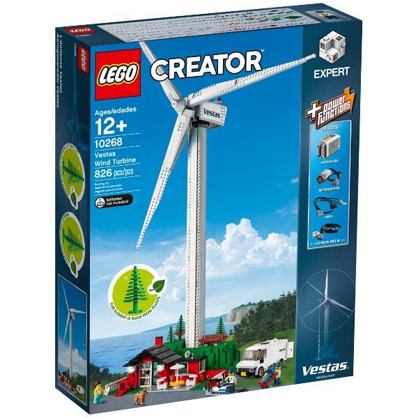【麥斯與亞當】LEGO 10268 Vestas Wind Turbine