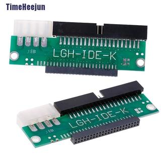 【 Thj 】 3.5 Ide 公轉 2.5 Ide 母 44 針至 40 針 Sata 轉換器適配器 Ca