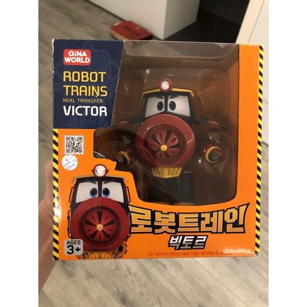 韓國進口 ROBOT Trains 變形火車 RT 維克多 正品