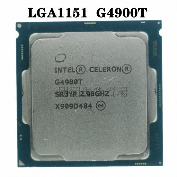 【即時出貨】 G4900T 2.9GHz 2M 35W 緩存雙核 CPU 處理器 SR3YP LGA 1151 托盤測試