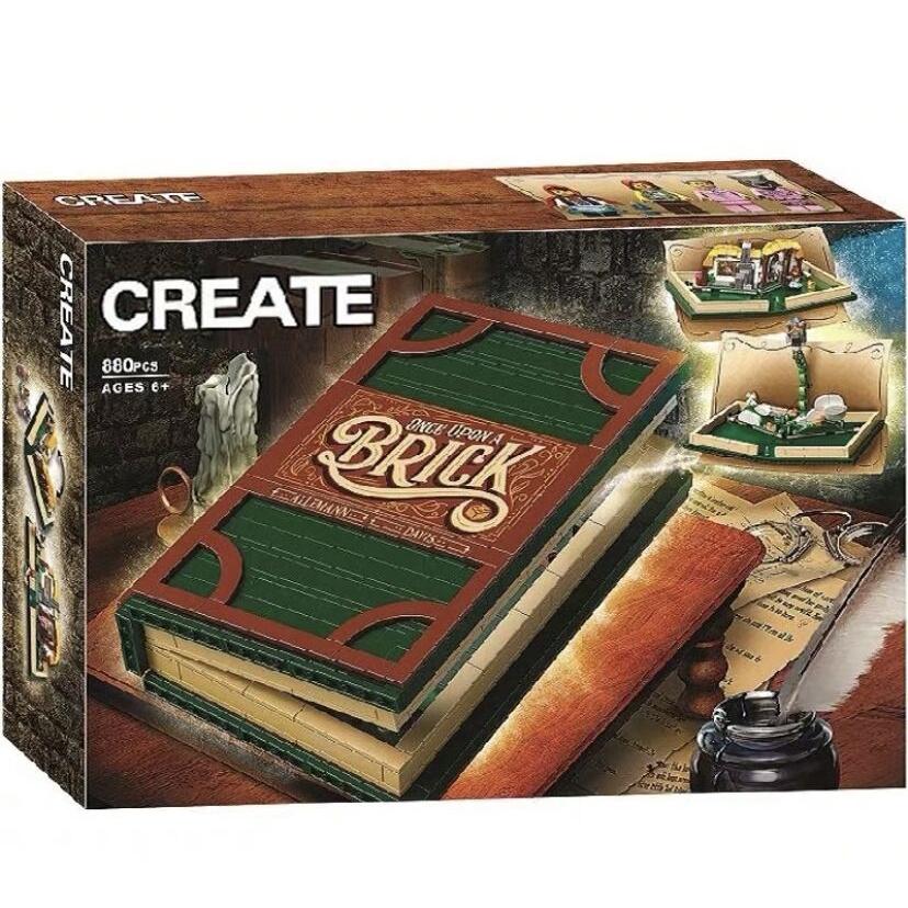 兼容樂高 21315 IDEAS 立體故事 - LEGO IDEAS Pop-Up Book -旗艦版