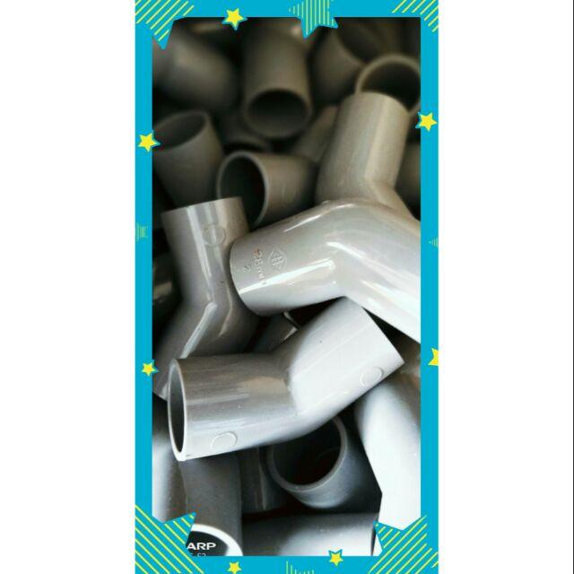[南亞]4分 6分 1吋 1.5吋 2吋 彎頭45°,塑膠管 PVC管 彎頭,2吋45度彎頭,PVC管接頭,水管接頭。