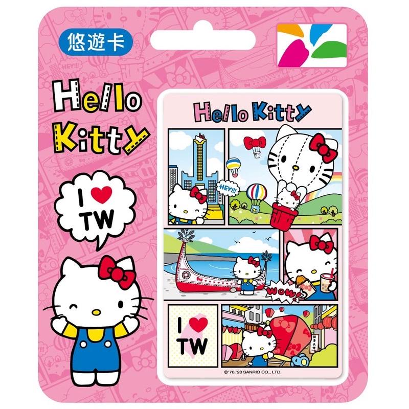 Hello Kitty 悠遊卡 愛台灣系列悠遊卡-HelloKitty漫畫3
