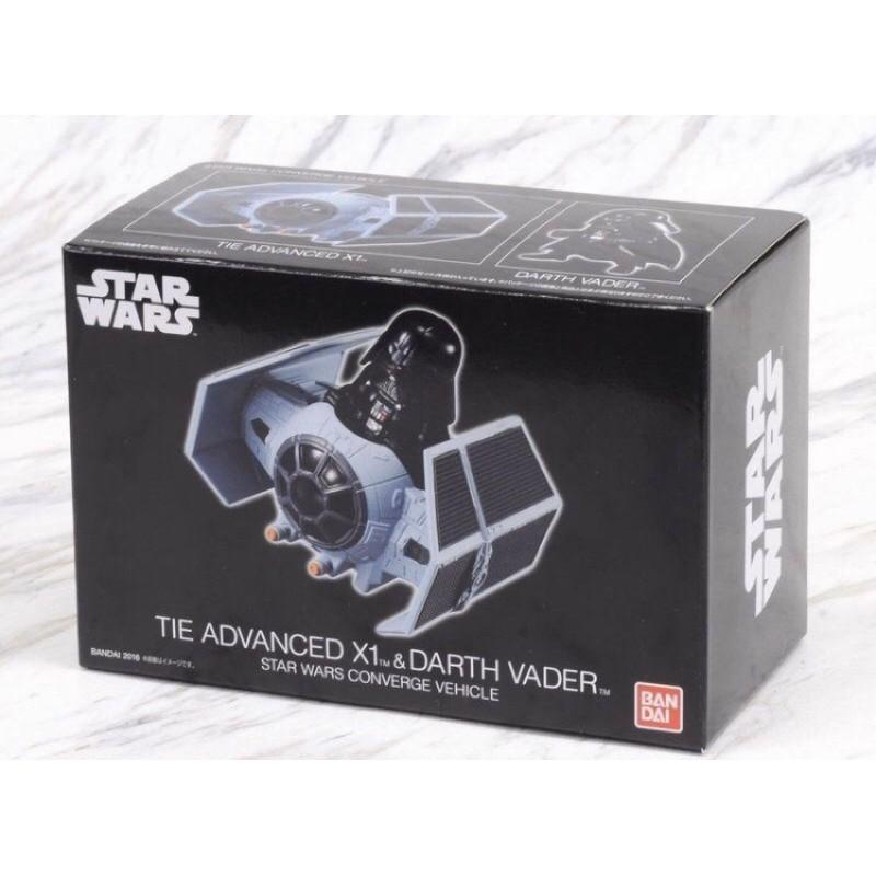 Bandai 盒玩 星際大戰 Star Wars darth Vader 黑武士 鈦戰機 僅拆封