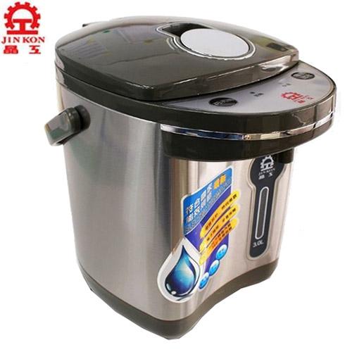 晶工 3L電動熱水瓶JK-3530【愛買】