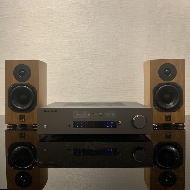 佑昇音響嚴選兩聲道組合:英國ATC SCM7 MK3 +英國Cambridge CXA81(佑昇調音版)
