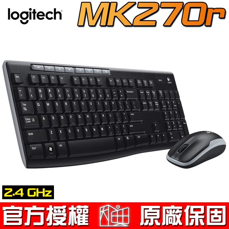 Logitech 羅技 MK270R 無線滑鼠鍵盤組 無線鍵鼠組 鍵鼠組