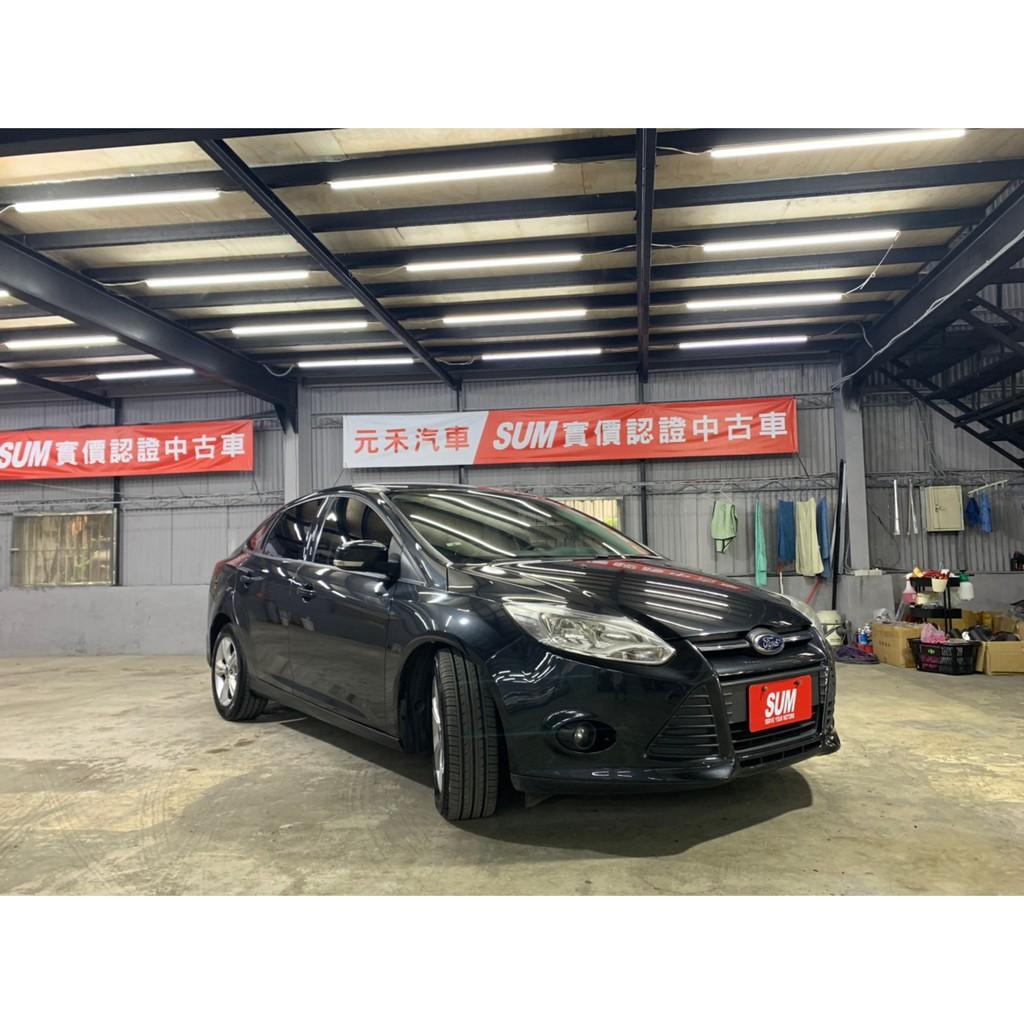 2014 Ford Focus 2.0TDCI 鐵灰 非自售 代步車 實車實價