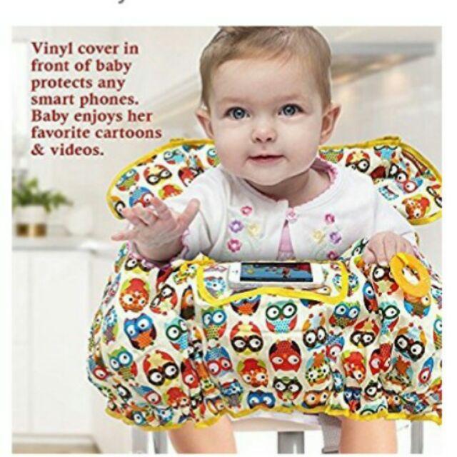 現貨。多用途親膚幼兒椅套。適用全品牌餐椅、購物車(costco完全貼合)。美國