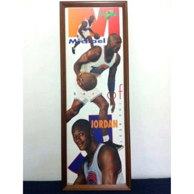 1996 怪物奇兵 Jordan 店頭用海報