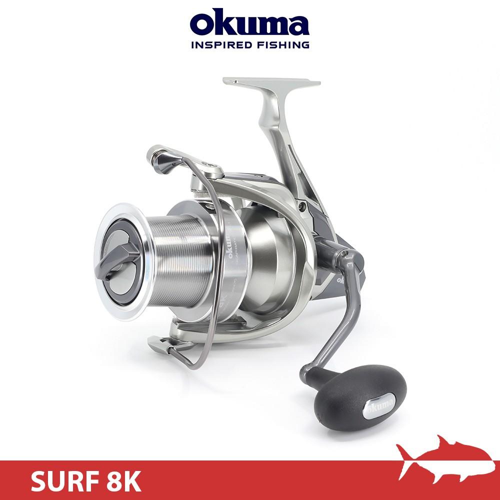Okuma SURF 8K 遠投捲線器 捲線器 路亞 鐵板 寶熊