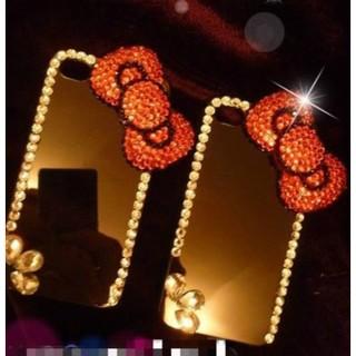 閃亮鑽殼❤多型號可製作,HTC 820/ 826/ 620/ 626/ 728/ 830/ 835  大紅蝴蝶結KITTY閃鑽手機殼貼鑽透明硬殼 新北市