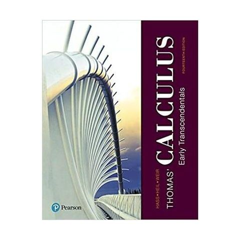 【書中黃金屋】Thomas' Calculus: Early Transcendentals 14th Edition�