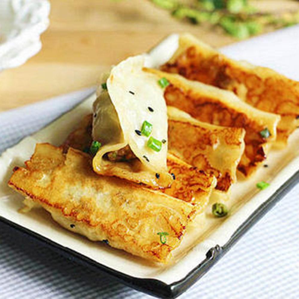 手工泡菜煎餃 500g土10%/25顆/包 【金龍生鮮肉品】