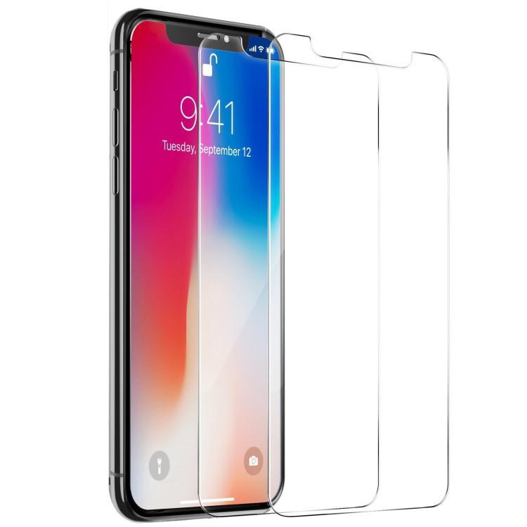 鋼化玻璃膜 玻璃貼 保護貼 適用蘋果iPhone12/6/7/8/Plus/Xs/i11/ProMAX/XR 全透明貼膜