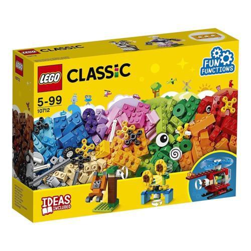 樂高 LEGO CLASSIC 經典系列 10712 顆粒與齒輪  全新未拆