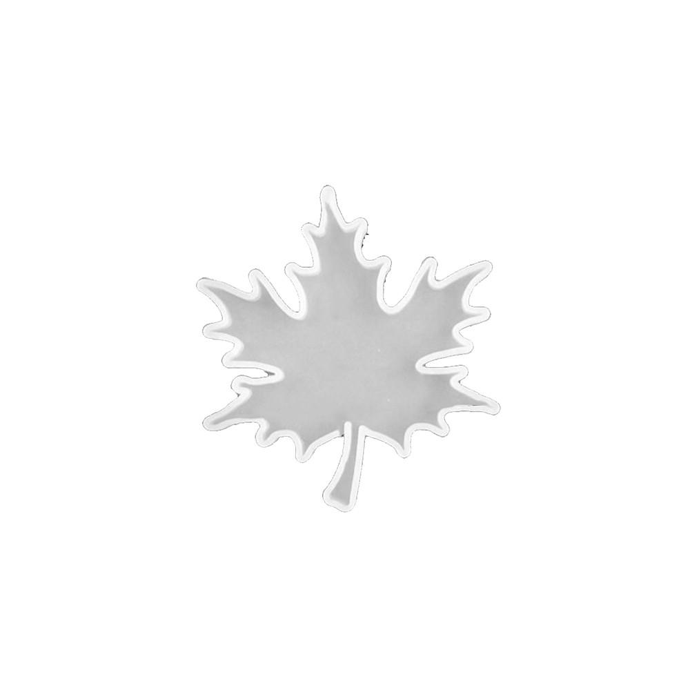 小楓葉diy水晶膠矽膠模具杯墊模具葉子楓葉鑽石手工鏡鏡子