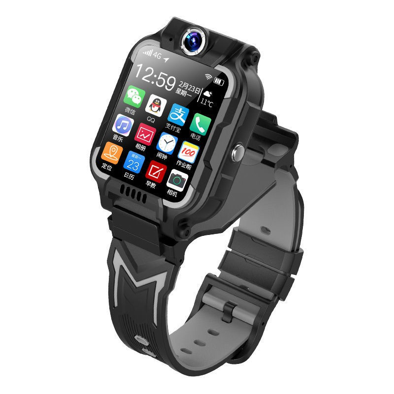 手錶℗▣洛洛小天才新款巔峰版兒童電話手表Z6智能學生雙攝視頻通話男女孩
