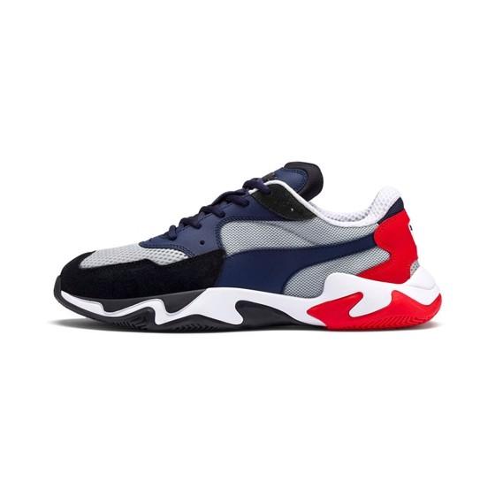 KURI.KR🐈 韓國代購 PUMA STORM ORIGIN 藍黑紅色 369770
