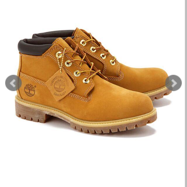 Timberland 黃短靴(男)全新 us 10號