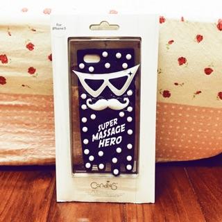 """全新 """"Candies""""iPhone 5/ 5s/ SE馬殺雞英雄(黑)手機殼"""