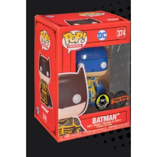 柴寶趣 FUNKO POP 374 藍色 限定版 日系 武士 蝙蝠俠 故宮 BATMAN 正版
