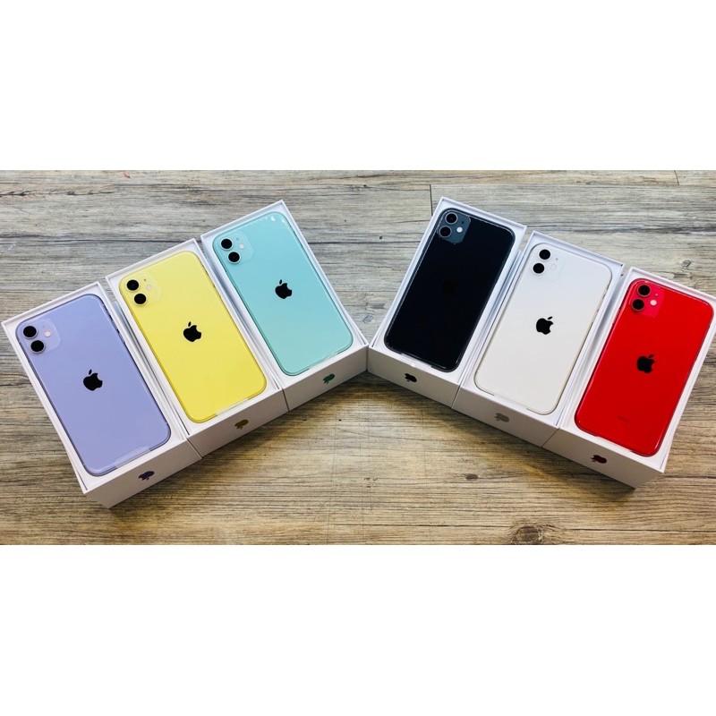 🌸 現貨供應 🌸iPHONE 11 64G·128G·256G 黑色·紅色·白色·紫色·綠色·黃色
