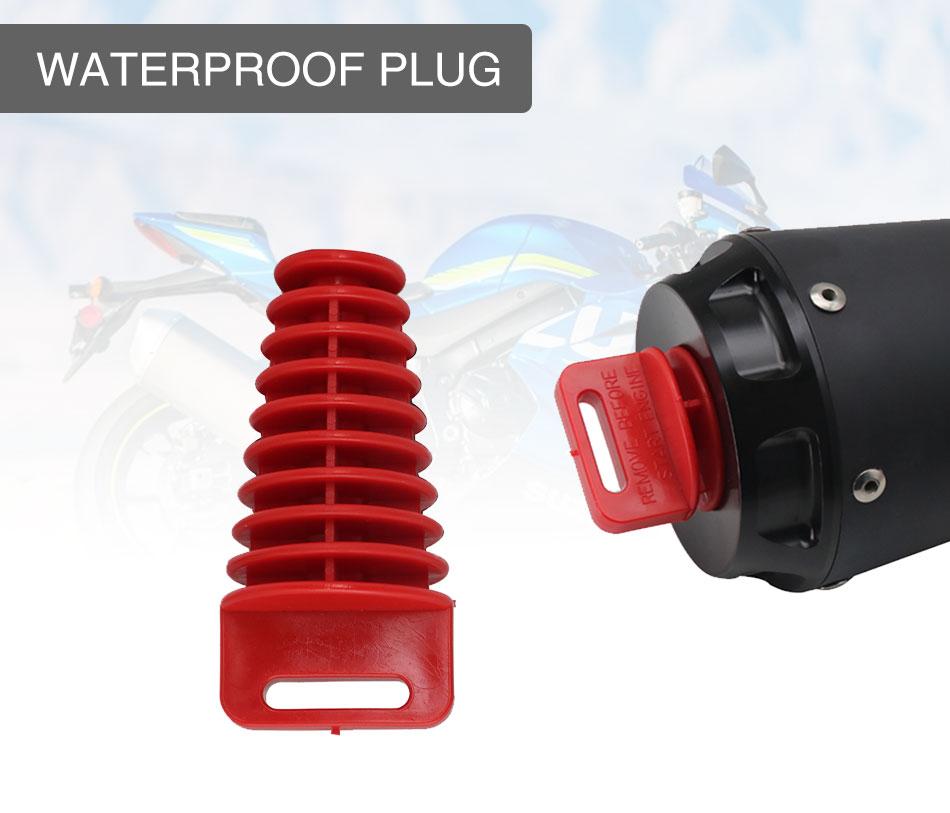 排氣管尾管橡膠空氣放氣塞排氣消音器消音器洗塞管保護器