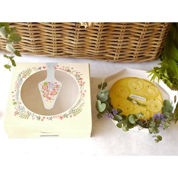 杜樂麗 8吋塔盒 盒+袋 組合價 蛋糕盒 乳酪盒 紙盒 外帶盒 禮盒 包裝盒 糖果盒 餅乾盒C040