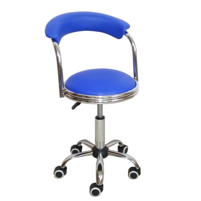 熱銷吧椅靠背升降滑輪圓凳現代簡約高腳凳可旋轉醫院實驗台工作椅伸降椅吧檯椅高腳椅工作椅中島椅高腳椅升降坐椅吧臺椅酒吧椅