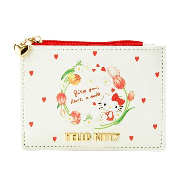 Hello Kitty春天系列票卡夾零錢包/悠遊卡包/錢包/今日最便宜/貨到付款/現貨/禮物